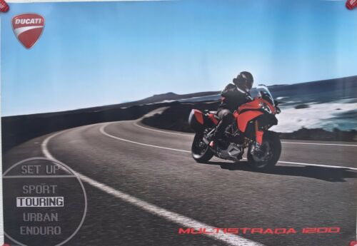 Ducati Multistrada 1200 front 19x28 Two-sided Promotional Poster
