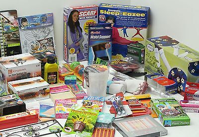 Wholesale Job Lot 100+ Mixed Stock Toys Tools Garden Electrical Kitchen Home Etc