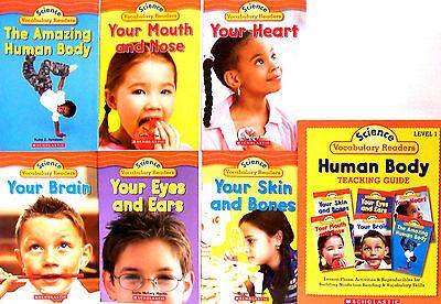 - Science Vocabulary Readers Set Human Body & Teacher's Guide (7 Paperbacks)