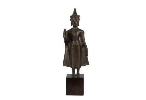 Thailand Vmtl. 17. Century Antique Thai Bronze Buddha IN Ayutthaya-Stil - Buddha