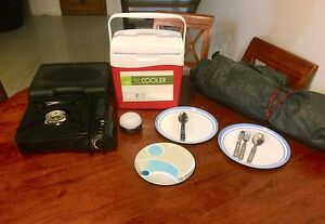 Camping gear: Cooler, Stove, lamp, cutlery and plates! FREE TENT Airlie Beach Whitsundays Area Preview