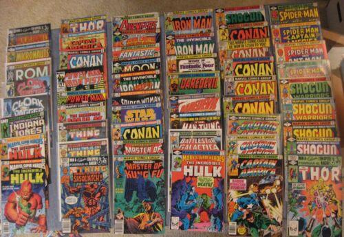 Wow! BIG Lot of *150* 70s (Bronze) MARVEL Comics! FF/Spidey/Avengrs/DD/Oddball++