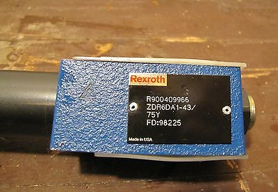 New - Rexroth Pressure Reducing Valve Direct Operated R900409966