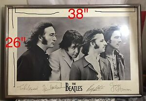 The Beatles Memorabilia (signed and framed)