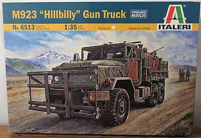 Italeri 6513  Iraq War M923 Hillbilly Gun Truck plastic model kit 1/35 for sale  Providence