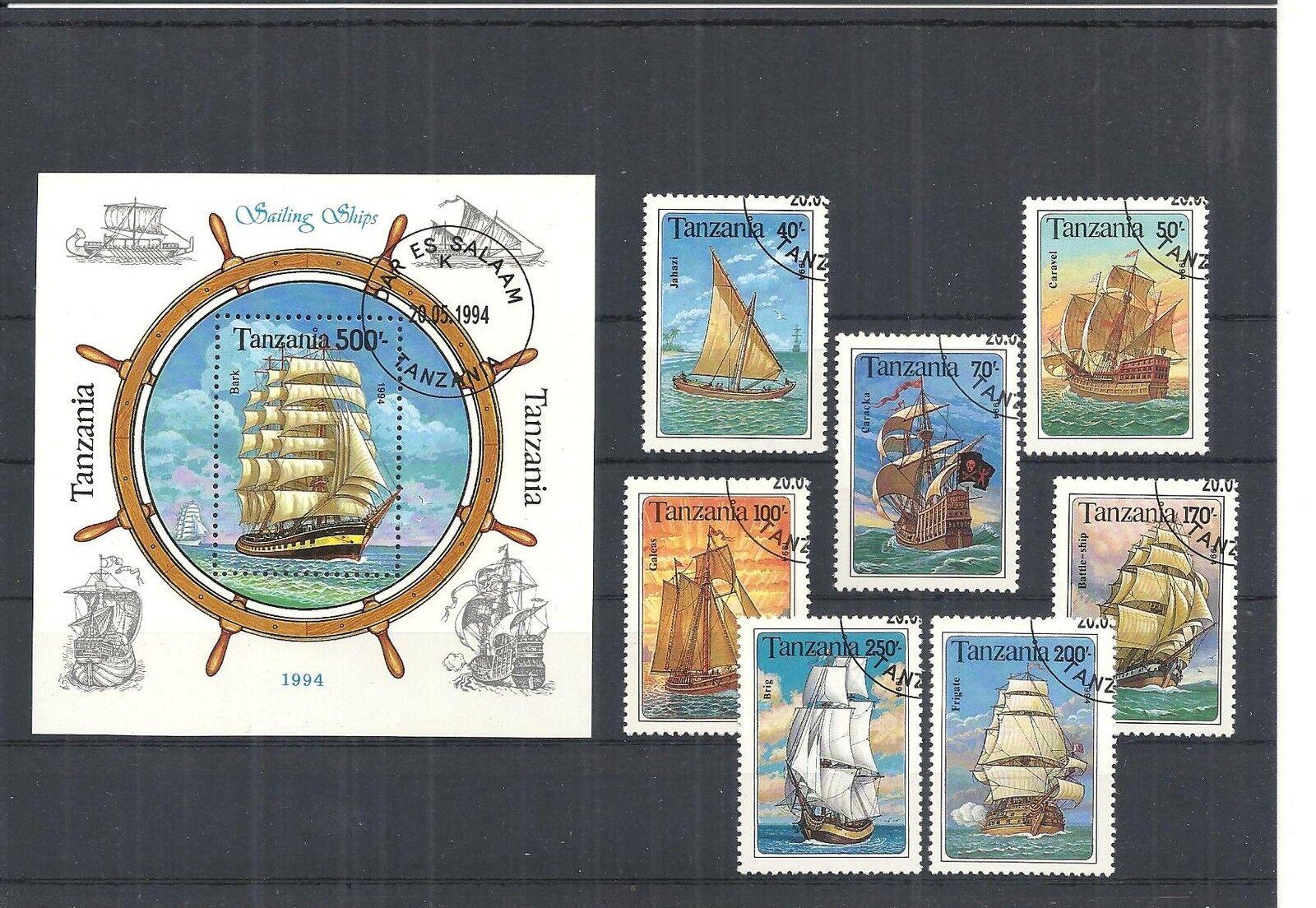 Afrika, Tansania/Tschad 1971 - 1994, Sammlungen mit Blöcken, sauber gestempelt o 1994 (1)