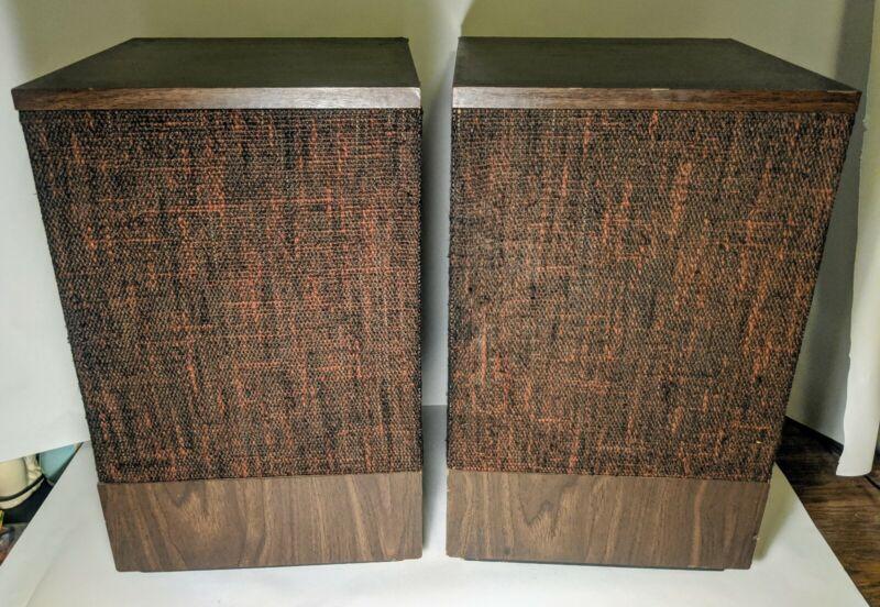 Vintage Bose 501 Series II Direct Reflecting Speakers