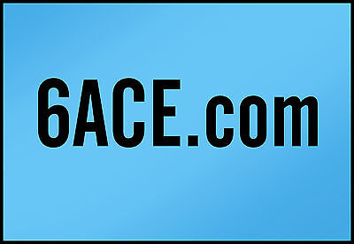6ACE.com   PREMIUM  Domain Name NLLL 4 character