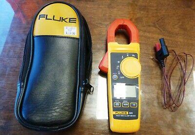 Fluke 325 True Rms Acdc Clamp Meter W Case K Type Temperature Probe Xlnt