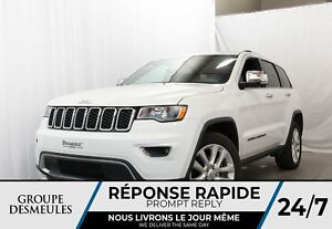 Jeep Grand Cherokee limited v6 + toit + cuir + gps + mags 20'' 2