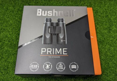 Bushnell Prime 12x50mm Full Size Hunting Binoculars, Black, Waterproof - BPR1250