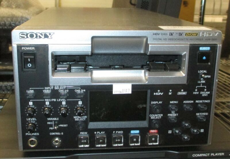 SONY HVR-1500 Digital HD Videocassette Recorder
