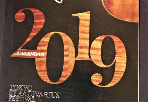 The Strad Calendar  2019  Stradivari Instruments.Slightly scratches on the cover