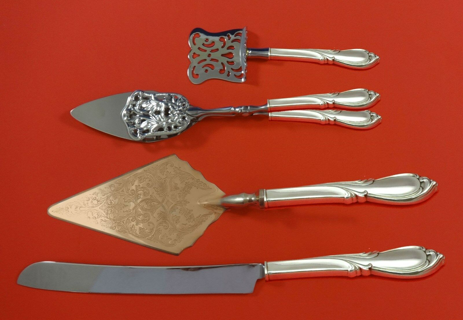 "Rhapsody New by International Sterling Silver Mustard Ladle Custom Made 4 1//2/"""