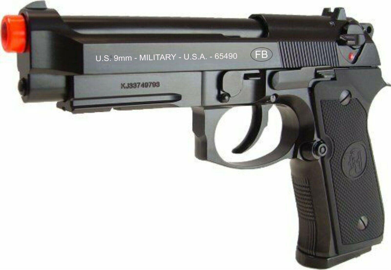 Fn Herstal Full Metal Airsoft Gun Fnx 45 Tactical Co2 Gas Blowback Gbb Pistol For Sale Online Ebay