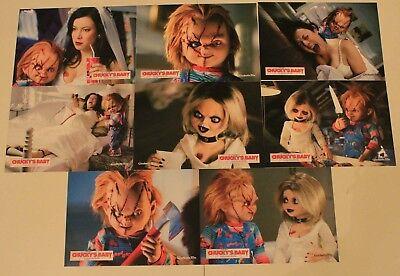 Seed of Chucky original German set of 8 horror Jennifer Tilly