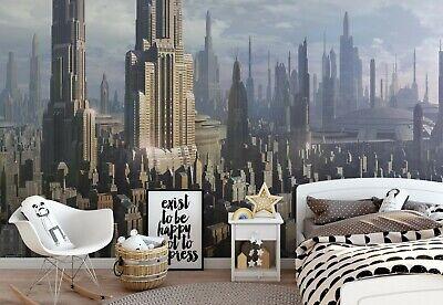 Star Wars bedroom wallpaper murals 254x184cm photo wall decor Coruscant city