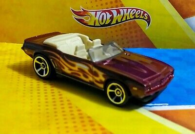 HOT WHEELS 2017 '69 CAMARO CONVERTIBLE FLAMES 5 PACK EXCLUSIVE SPRING CLEARANCE