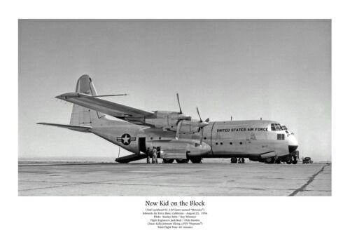 "USAF Lockheed C-130 Hercules ((8.5""x11"")) Print"