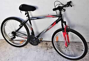 Southern Star Kodiak bikes x 2. Like new lock, gel cover, basket