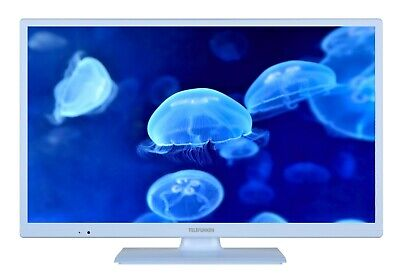 Telefunken XH24D101 LED Fernseher 24 Zoll TV HD ready Triple-Tuner CI+ blau  Hd Tuner Hd Ready Tv