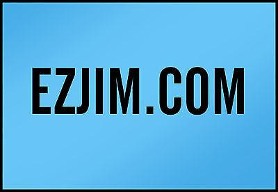 EZJIM.com   PREMIUM Domain Name LLLLL 5 Letters