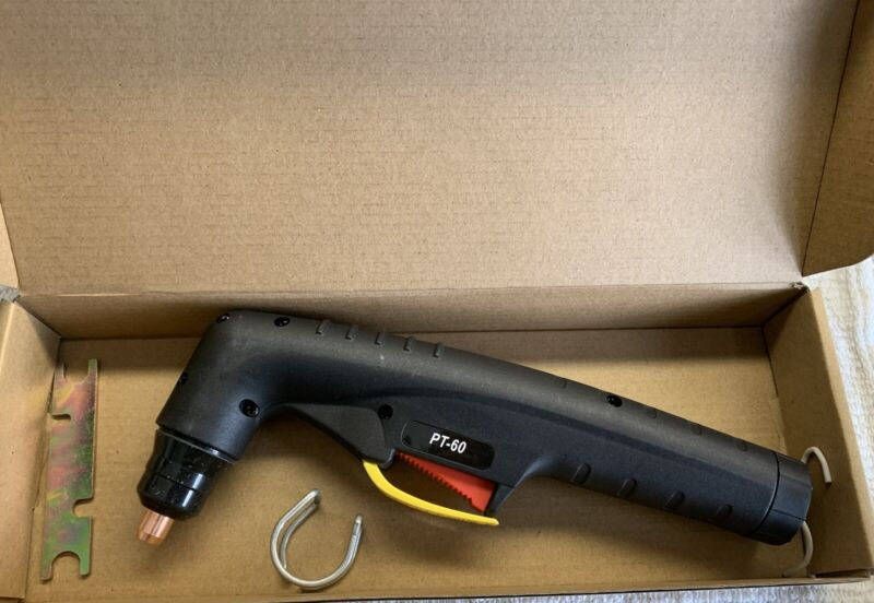 PT60 iPT60 PT-60 Plasma Cutting Hand Torch Head Body New W/ Handle & Spare Parts