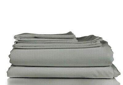 Cal King Size Bamboo Comfort 4-Piece Sheet Set 1800 Series Bedding Super Soft