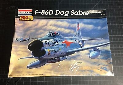 1/48 F-86D Dog Sabre Monogram Pro Modeler Sealed Box # 85-5960 2001 Issue for sale  Altoona