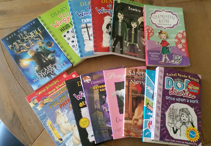 Chapter books - great for holidays or xmas