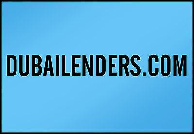 DubaiLenders.COM  ----All Letter Domain Name----