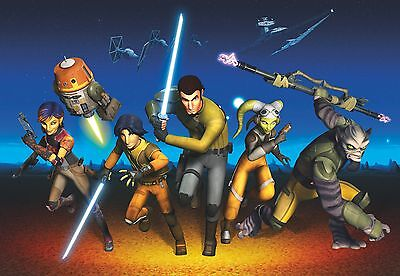 368x254cm Giant Wall mural photo wallpaper boys room Star Wars Rebels feature