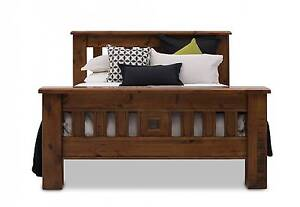 Queen bed - Settler Amart Furniture RRP: $799 Ormeau Hills Gold Coast North Preview