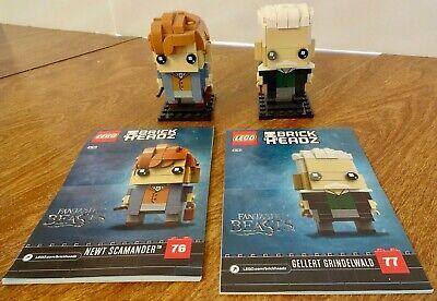 LEGO BRICKHEADZ 41631Fantastic Beasts Newt Scamander & Gellert Grindelwald