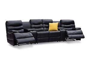 Brand New Leather Theatre Suite Sofa / Couch / Lounge Marion Marion Area Preview