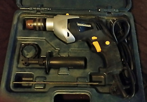 Master Craft Corded Drill / Hammer Drill with Case
