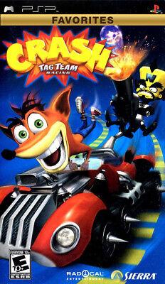 Crash Tag Team Racing PSP New Sony PSP