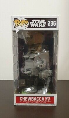 Funko Pop. Star Wars - Chewbacca (With AT-ST) #236