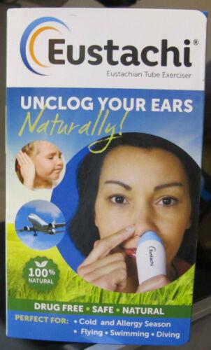 Eustachi Eustachian Tube Exerciser- Unclog Your Ears Naturally New Free Shipping