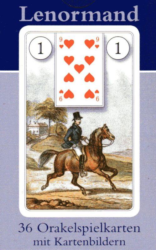 LENORMAND DONDORF TAROT KARTEN mit Kartenbildern - NEU