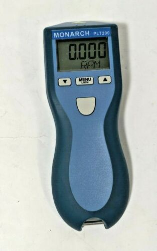 Monarch PLT200 Laser Tachometer,5 to 200,000 rpm