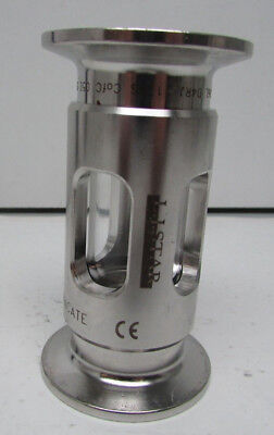 LJ Star Armored Sanitary Sight Flow Indicator 1