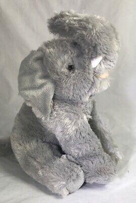 "Conservation Critters 14"" Elephant Plush Stuffed Animal Toy"