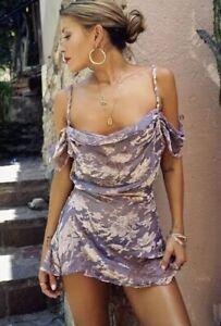 Rat & boa Viola dress