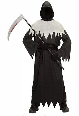 Deluxe Invisible Face Grim Reaper Fancy Dress Costume Boys Halloween 11-13 - Reaper Deluxe Kostüm