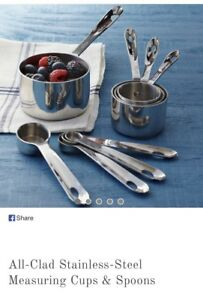 Brand new in box All Clad Measuring cups and spoons