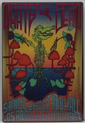 Grateful Dead Concert Poster 2 X 3 Fridge / Locker Magnet. L.A. 1967