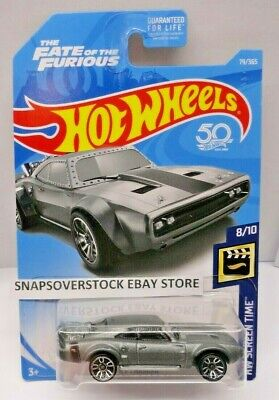 2018 HOT WHEELS THE FATE OF THE FURIOUS ICE CHARGER, HW SCREEN TIME 8/10, HW #79