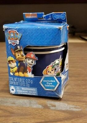 Paw Patrol Egg Coloring Cups With Dye Tablets