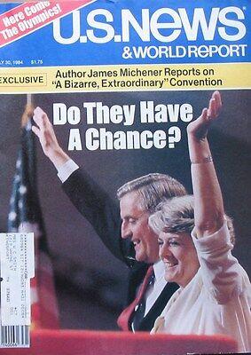 Us News   World Report Magazine July 30 1984